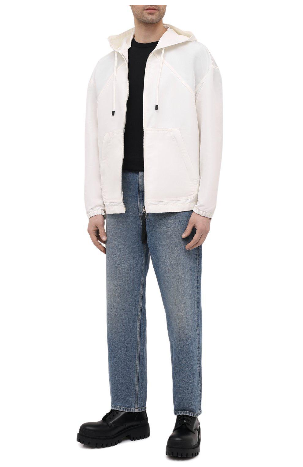 Мужская куртка TOM FORD белого цвета, арт. BW087/TF0559 | Фото 2