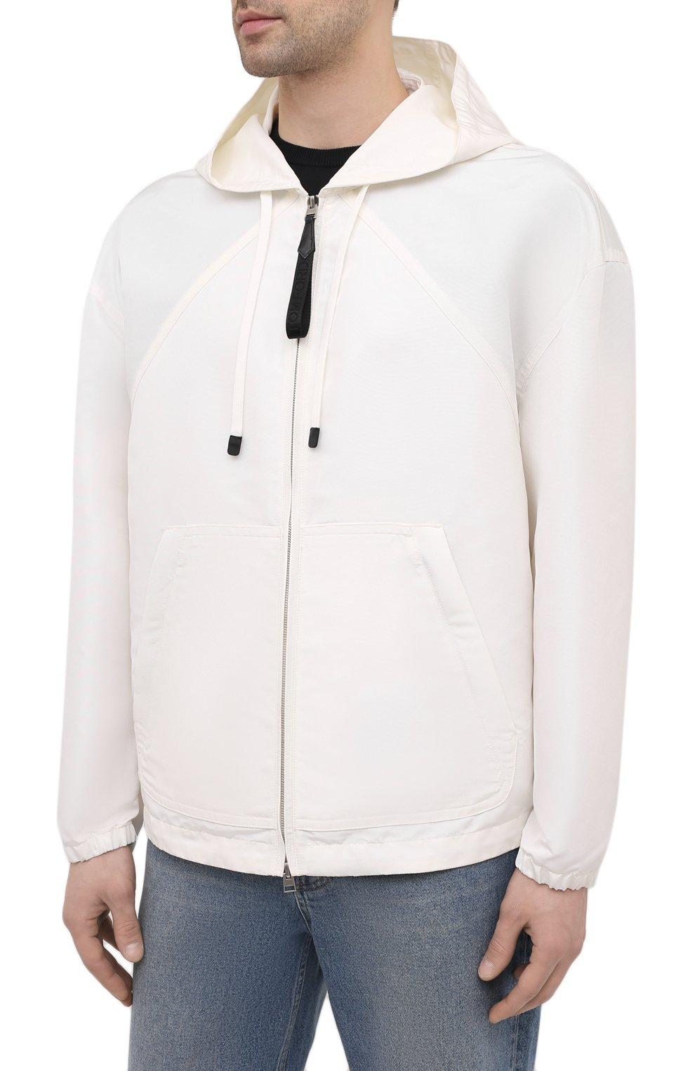 Мужская куртка TOM FORD белого цвета, арт. BW087/TF0559 | Фото 3