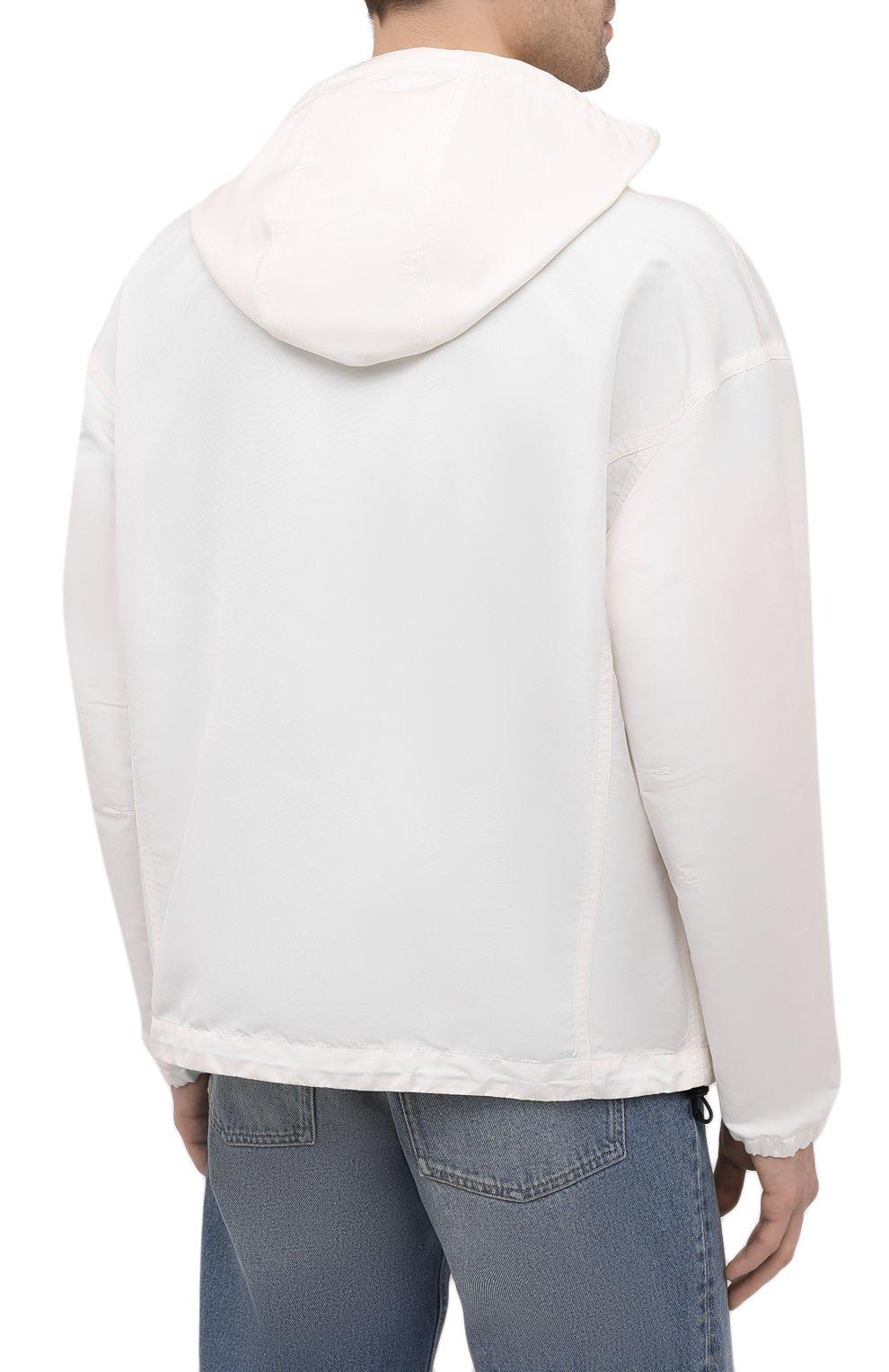 Мужская куртка TOM FORD белого цвета, арт. BW087/TF0559 | Фото 4