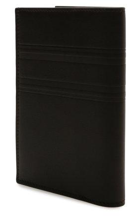 Мужской кожаная обложка для паспорта BRIONI коричневого цвета, арт. 0HSX0L/P9721 | Фото 2