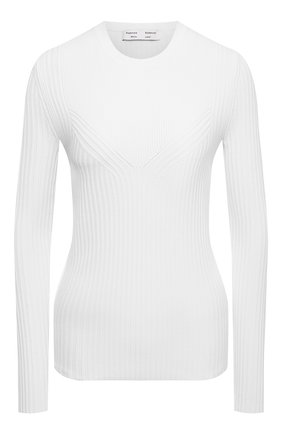 Женский пуловер PROENZA SCHOULER WHITE LABEL белого цвета, арт. WL2127574-KY220 | Фото 1