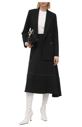 Женский пуловер PROENZA SCHOULER WHITE LABEL белого цвета, арт. WL2127574-KY220 | Фото 2