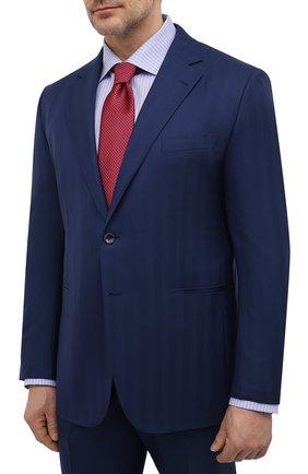 Мужской шерстяной костюм ZILLI темно-синего цвета, арт. MMV-P1202Z1-56804/0001 | Фото 2