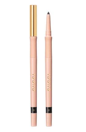 Карандаш для глаз stylo contour des yeux, 1 noir GUCCI бесцветного цвета, арт. 3616302010097   Фото 1