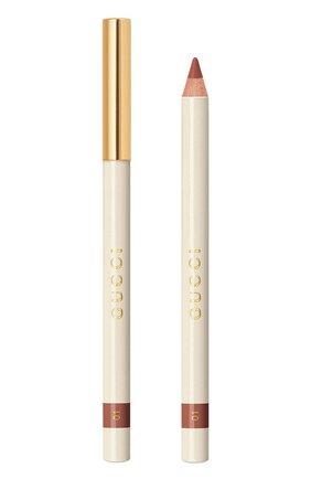 Карандаш для губ crayon contour des lèvres, 1 nude GUCCI бесцветного цвета, арт. 3616301781424 | Фото 1