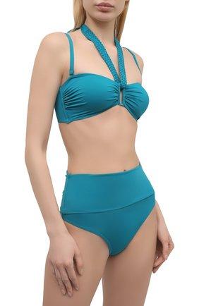 Женский плавки-бикини AUBADE бирюзового цвета, арт. TS24 | Фото 2