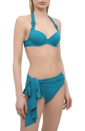 Женский плавки-бикини AUBADE бирюзового цвета, арт. TS22 | Фото 2