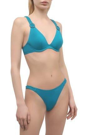 Женский плавки-бикини AUBADE бирюзового цвета, арт. TS20 | Фото 2