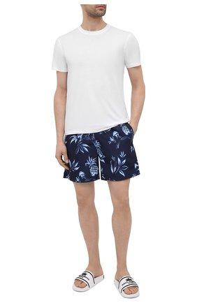 Мужские плавки-шорты POLO RALPH LAUREN темно-синего цвета, арт. 710834854 | Фото 2