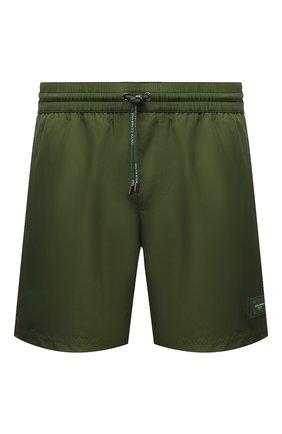 Мужские плавки-шорты DOLCE & GABBANA хаки цвета, арт. M4B12T/FUSFW | Фото 1