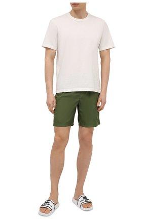 Мужские плавки-шорты DOLCE & GABBANA хаки цвета, арт. M4B12T/FUSFW | Фото 2