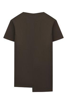 Детская хлопковая футболка PAOLO PECORA MILANO зеленого цвета, арт. PP2665/8A-12A   Фото 2