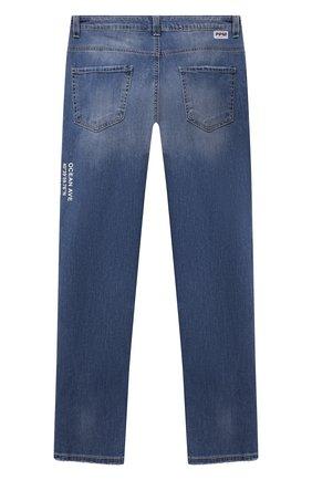 Детские джинсы PAOLO PECORA MILANO синего цвета, арт. PP2611/8A-12A   Фото 2