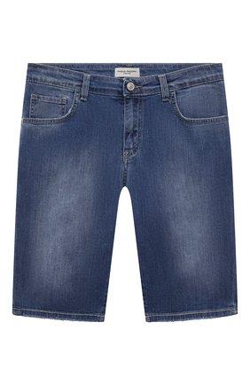 Детские джинсовые шорты PAOLO PECORA MILANO синего цвета, арт. PP2610/14A-16A   Фото 1