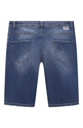 Детские джинсовые шорты PAOLO PECORA MILANO синего цвета, арт. PP2610/14A-16A   Фото 2