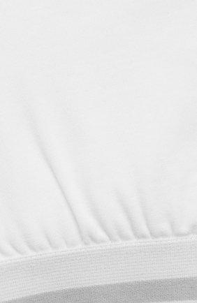 Детский бра-топ SANETTA белого цвета, арт. 346630 | Фото 3
