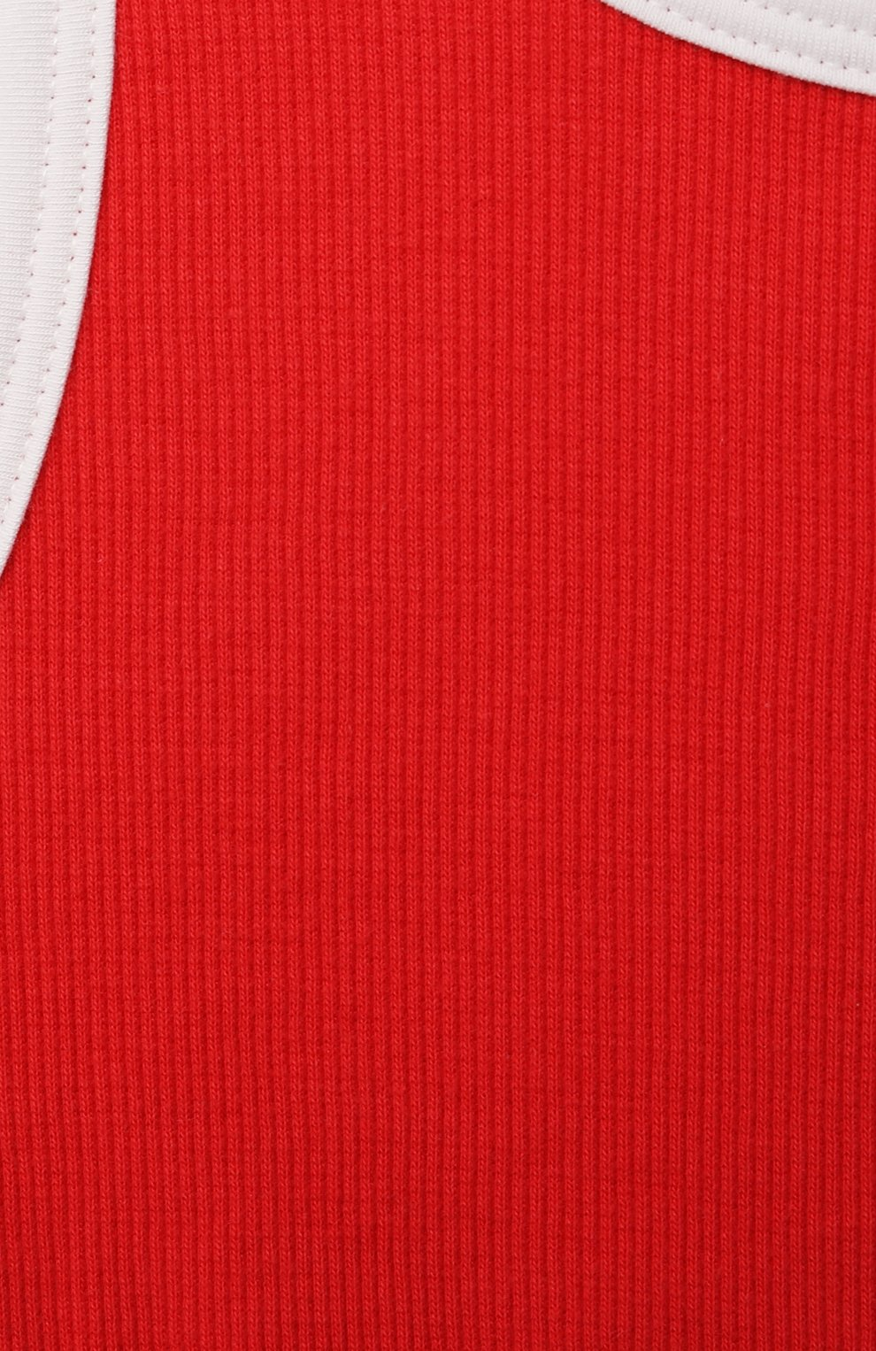 Детский бра-топ SANETTA красного цвета, арт. 346795 | Фото 3