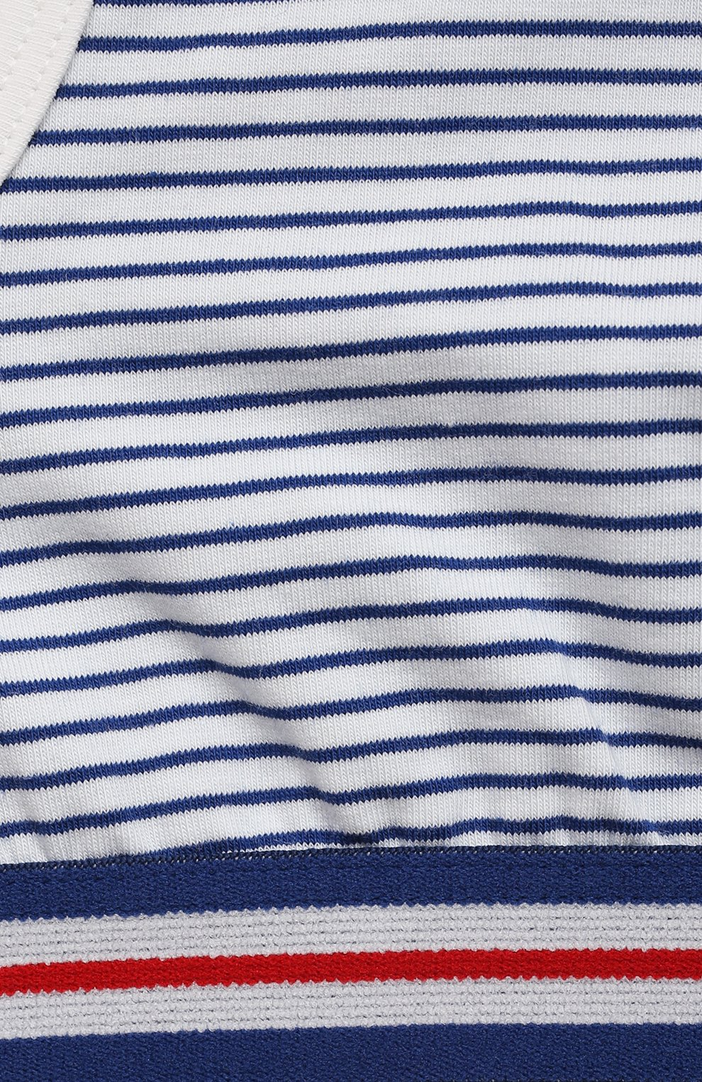 Детский бра-топ SANETTA синего цвета, арт. 346704 | Фото 3