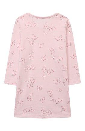 Детская хлопковая сорочка SANETTA светло-розового цвета, арт. 232605 | Фото 2