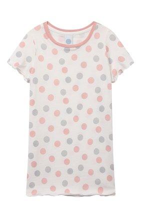 Детская хлопковая сорочка SANETTA светло-розового цвета, арт. 232569 | Фото 1