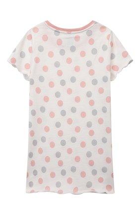 Детская хлопковая сорочка SANETTA светло-розового цвета, арт. 232569 | Фото 2