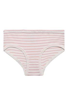Детские хлопковые трусы SANETTA светло-розового цвета, арт. 335124 | Фото 1