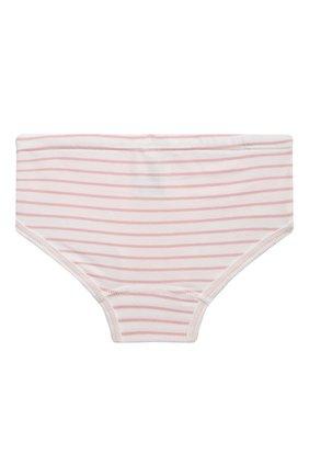 Детские хлопковые трусы SANETTA светло-розового цвета, арт. 335124 | Фото 2