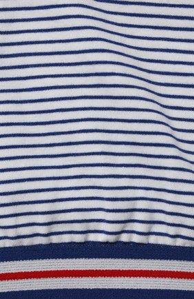 Детский бра-топ SANETTA синего цвета, арт. 346704.   Фото 3