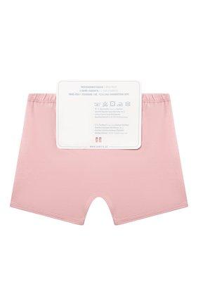 Детские комплект из двух трусов SANETTA светло-розового цвета, арт. 335128. | Фото 2