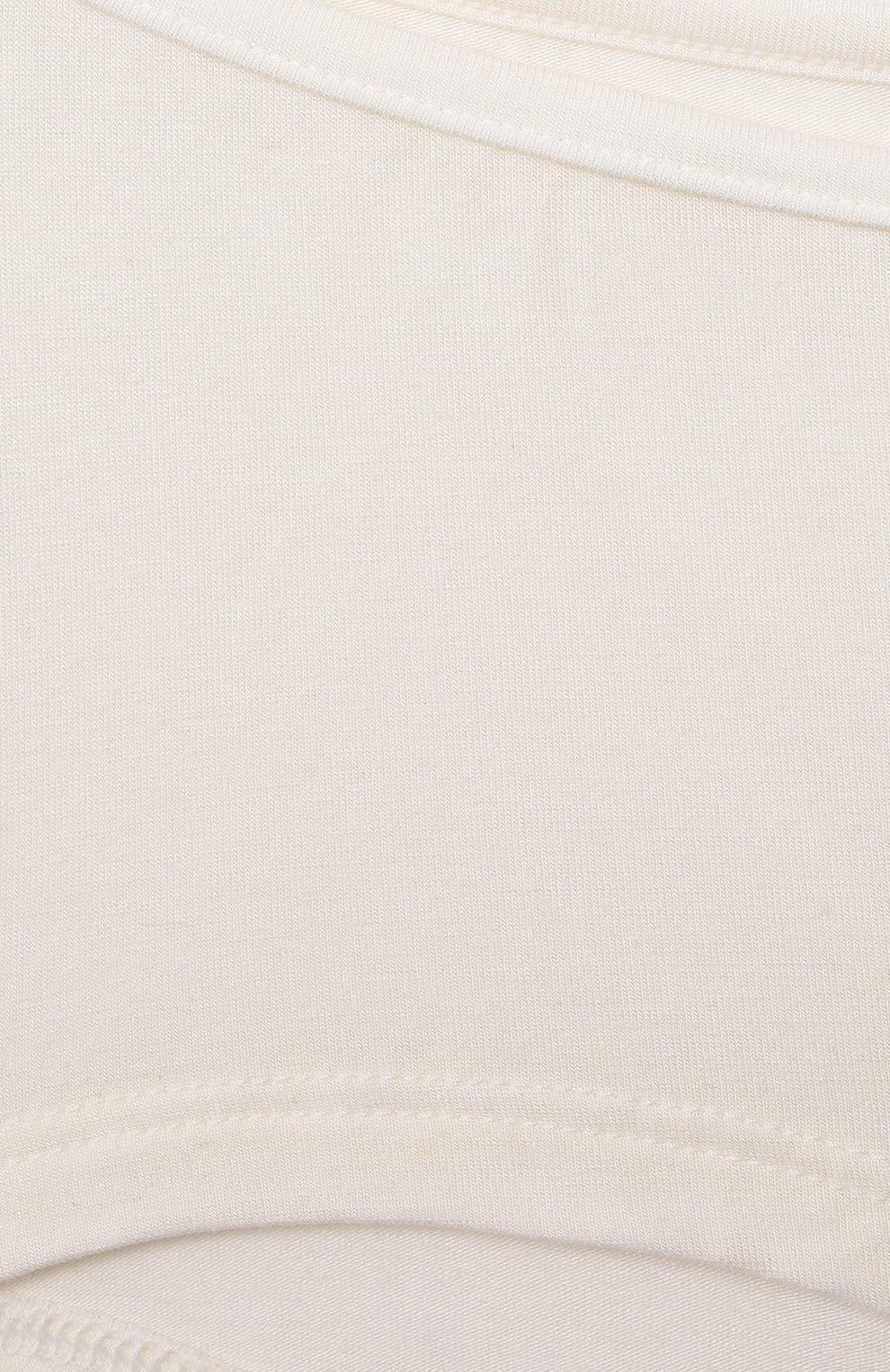 Детские трусы SANETTA белого цвета, арт. 344585. | Фото 3