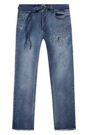 Детские джинсы JAKIOO голубого цвета, арт. 497402 | Фото 1