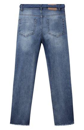 Детские джинсы JAKIOO голубого цвета, арт. 497402 | Фото 2