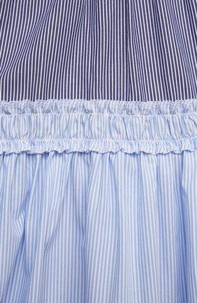Детское хлопковое платье IL GUFO разноцветного цвета, арт. P21VA265C1052/2A-4A   Фото 3