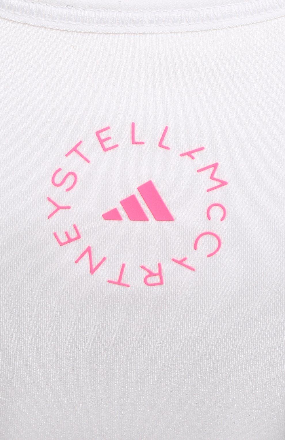 Женский топ ADIDAS BY STELLA MCCARTNEY белого цвета, арт. GL5289 | Фото 5