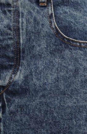 Женская джинсовая юбка ISABEL MARANT ETOILE синего цвета, арт. JU1245-21P019E/LAURINA   Фото 5