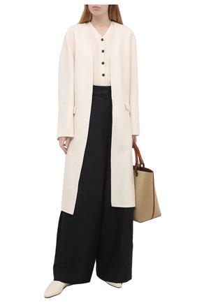 Женское шерстяное пальто EMILIO PUCCI белого цвета, арт. 1ERA15/1E604 | Фото 2