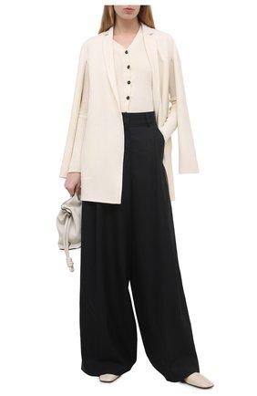 Женское шерстяное пальто EMILIO PUCCI белого цвета, арт. 1ERA10/1E604 | Фото 2