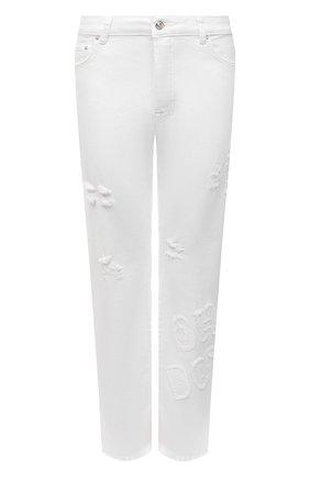 Женские джинсы ICEBERG белого цвета, арт. 21E I2P0/2B01/6200 | Фото 1