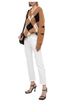 Женские джинсы ICEBERG белого цвета, арт. 21E I2P0/2B01/6200 | Фото 2