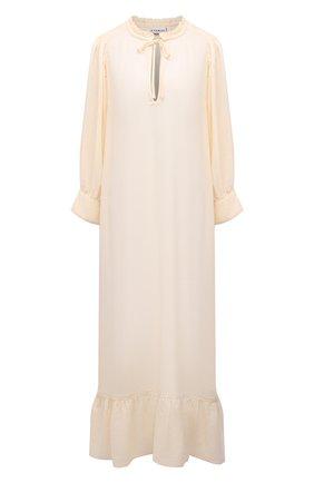 Женское платье EVARAE кремвого цвета, арт. S21MELA-CRM   Фото 1