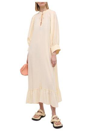Женское платье EVARAE кремвого цвета, арт. S21MELA-CRM   Фото 2