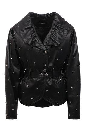 Женская кожаная куртка ISABEL MARANT черного цвета, арт. VE1591-21E001I/ANEPAL | Фото 1