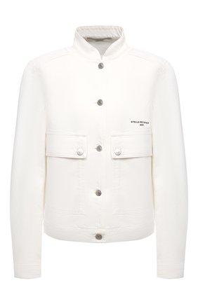 Женская джинсовая куртка STELLA MCCARTNEY белого цвета, арт. 602893/S0H40 | Фото 1