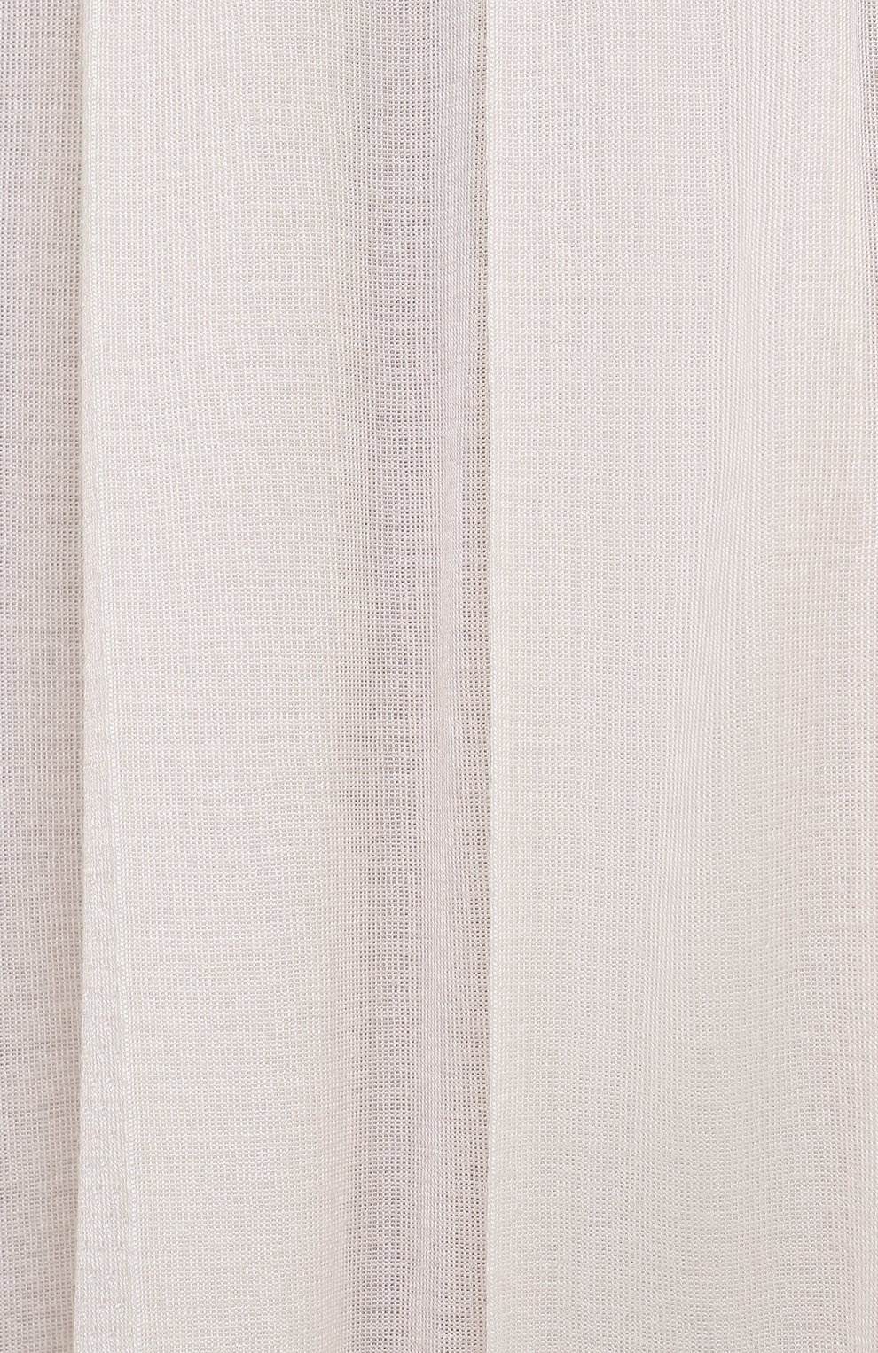 Женская юбка из кашемира и шелка LORO PIANA белого цвета, арт. FAL5239 | Фото 5 (Материал внешний: Шерсть, Шелк, Кашемир; Женское Кросс-КТ: юбка-плиссе, Юбка-одежда; Длина Ж (юбки, платья, шорты): Миди; Стили: Романтичный)