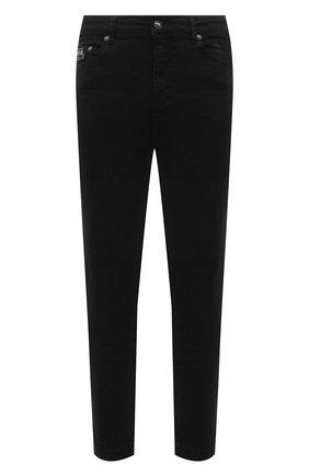 Мужские джинсы VERSACE JEANS COUTURE черного цвета, арт. A2GWA0R0-WUP513/60366   Фото 1