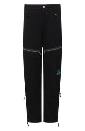 Мужские брюки DIESEL черного цвета, арт. A01601/0ECAQ | Фото 1