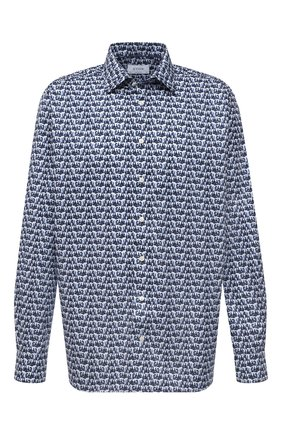 Мужская хлопковая рубашка ETON синего цвета, арт. 1000 02233 | Фото 1