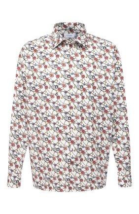 Мужская хлопковая рубашка ETON разноцветного цвета, арт. 1000 02234 | Фото 1