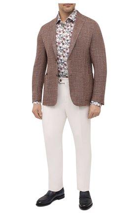 Мужская хлопковая рубашка ETON разноцветного цвета, арт. 1000 02234 | Фото 2