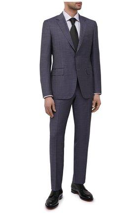 Мужской шерстяной костюм CANALI синего цвета, арт. 21280/19/AA02524 | Фото 1